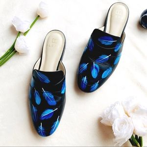 Alepel hand painted mules